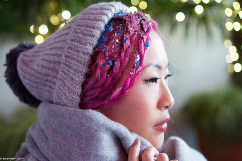 Three Festive Hair Ideas with Blow Ltd