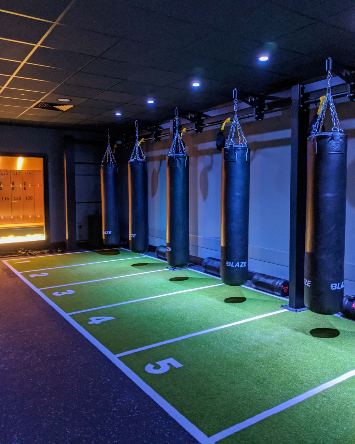 Blaze Studio Birmingham studio for high intensity interval training classes