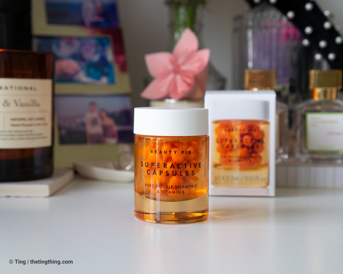 Beauty Pie Superactive Capsules Pure Double Dose Vitamin C and Vitamin E