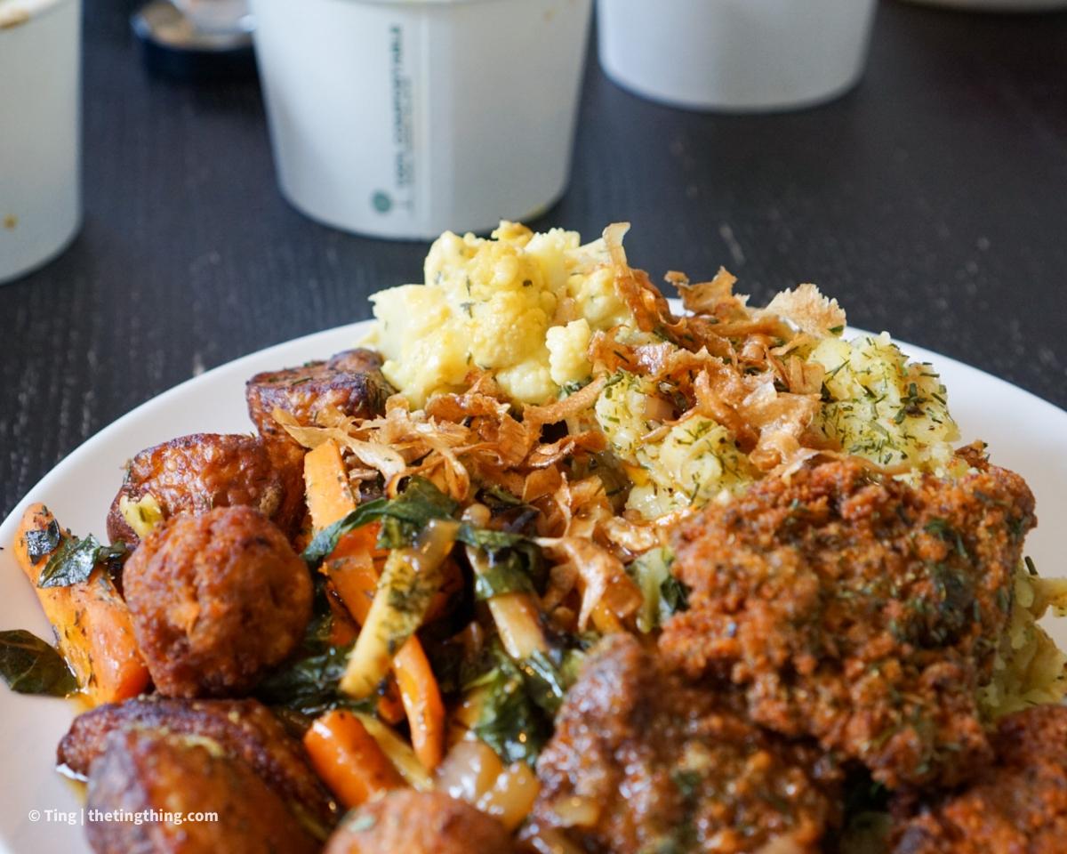 BaHa vegan Sunday lunch at home