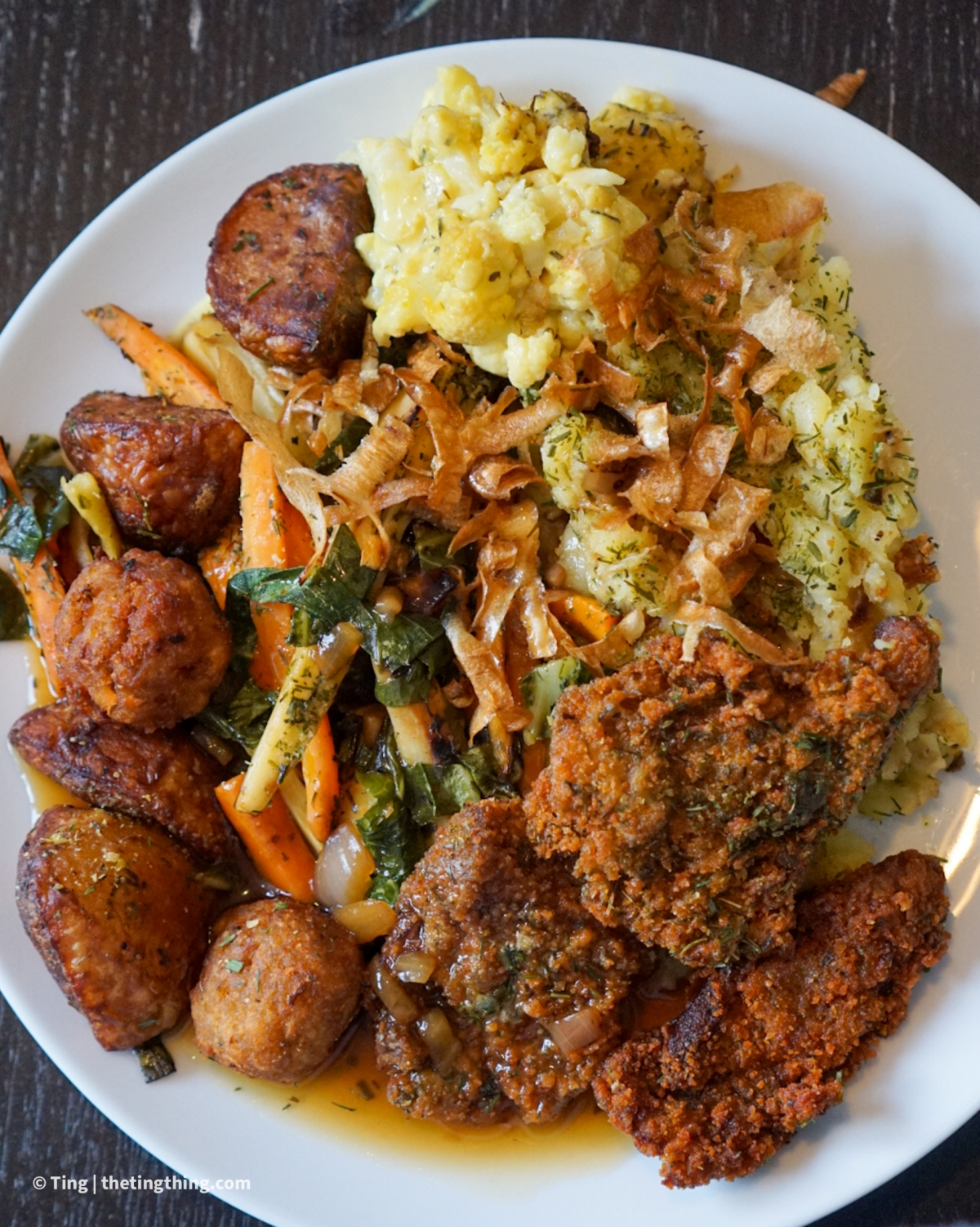 BaHa king of roasts plated